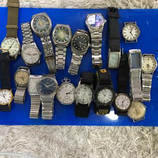 時計おまとめ12. SEIKO, CITIZEN, CASIO他(腕時計(アナログ))