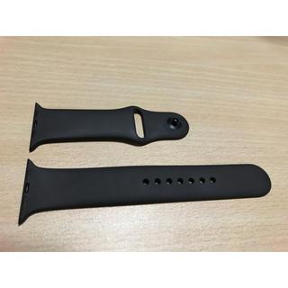 アップルウォッチ(Apple Watch)のApple Watch 純正 シリコンバンド 42mm M/L(ラバーベルト)