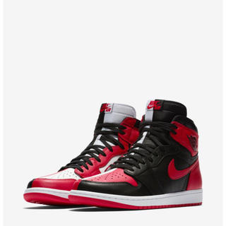 ナイキ(NIKE)のaj1 air jordan 1 HOMAGE TO HOME 26.5 (スニーカー)
