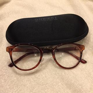 ゴーウエスト(GOWEST)の伊達メガネ 伊達眼鏡 ケース(サングラス/メガネ)