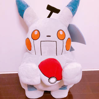 ポケモン(ポケモン)のリカケイノオトコ ロボット ピカチュウ ぬいぐるみ(ぬいぐるみ)