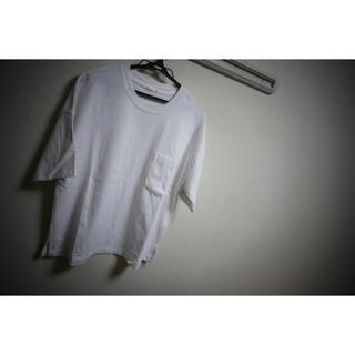 ジーユー(GU)のGU 白Tシャツ ビッグシルエット(Tシャツ/カットソー(半袖/袖なし))