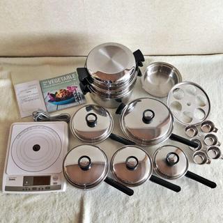 アムウェイ(Amway)のrosa様専用 アムウェイ鍋24ピースセット & インダクションレンジ(調理機器)