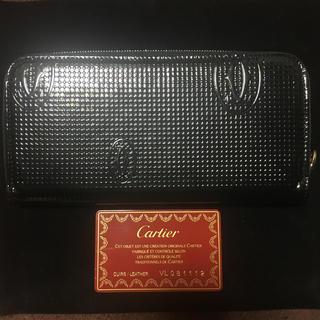 カルティエ(Cartier)の【カルティエ】ハッピーバースデー ラウンド長財布(長財布)