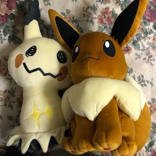 ポケモン(ポケモン)のイーブイ&ミミッキュ(ぬいぐるみ)