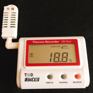 T&D  おんどとり  温度湿度計   TR-72wf(工具/メンテナンス)