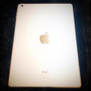 アイパッド(iPad)の【美品】iPad Air Wi-Fi 32GB シルバー 本体+カバー(タブレット)