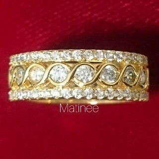 新品 インフィニティ ∞ エタニティリング 高品質AAA CZ ダイヤモンド (リング(指輪))