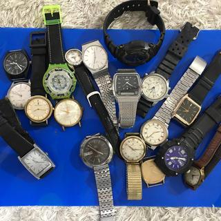 時計おまとめ15.SEIKO,CASIO,CITIZEN 他(腕時計(アナログ))