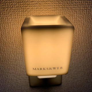 マークスアンドウェブ(MARKS&WEB)のマークスアンドウェブ アロマランプ(アロマポット/アロマランプ/芳香器)