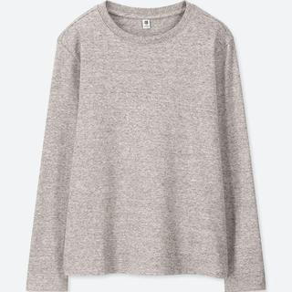 ユニクロ(UNIQLO)のKIDS ソフトタッチクルーネックT(長袖) UNIQLO ユニクロ(Tシャツ/カットソー)