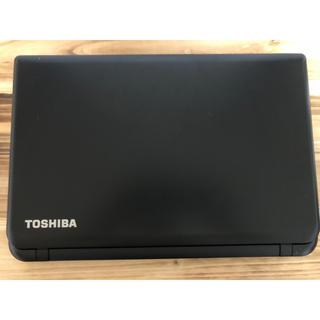 トウシバ(東芝)のTOSHIBA ノートパソコン 15.6インチ 東芝(ノートPC)