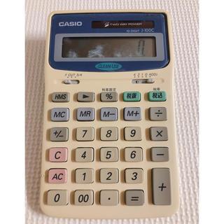 カシオ(CASIO)のCASIO 電卓 10-DIGIT J-100C(オフィス用品一般)