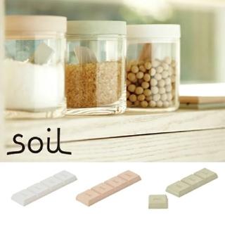 ソイル(SOIL)のsoilドライングブロック ※ピンク(収納/キッチン雑貨)