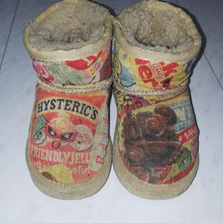 ヒステリックミニ(HYSTERIC MINI)の☆ヒスミニ☆ムートンブーツ16㎝(ブーツ)