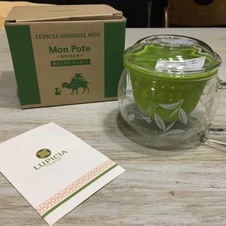 ルピシア(LUPICIA)の新品未使用 LUPICIA 茶こし付き ティーカップ(グラス/カップ)