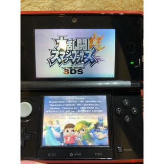 ニンテンドー3DS(ニンテンドー3DS)の3DS カセット付き(携帯用ゲーム本体)