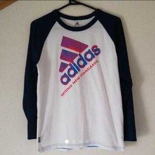 アディダス(adidas)の値下げ◆美品◆adidas (Tシャツ(長袖/七分))