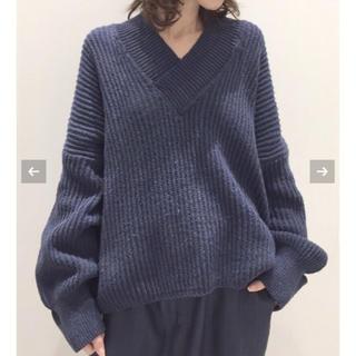 2/24まで☆Twins Florence Denim V/N Knit