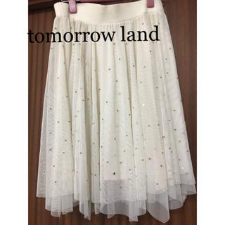 トゥモローランド(TOMORROWLAND)のトゥモローランド♡星のチュールスカート(ひざ丈スカート)