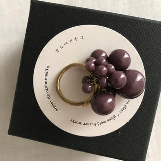 アッシュペーフランス(H.P.FRANCE)のオカベマキコ シャボンリング(リング(指輪))