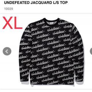アンディフィーテッド(UNDEFEATED)のundefeated ジャガード織りロングスリーブ XL(Tシャツ/カットソー(七分/長袖))