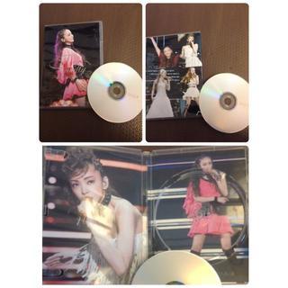安室奈美恵 銀テープ ツアーパンフ WOWWOW DVD 琉球新報 ステッカー(ミュージシャン)