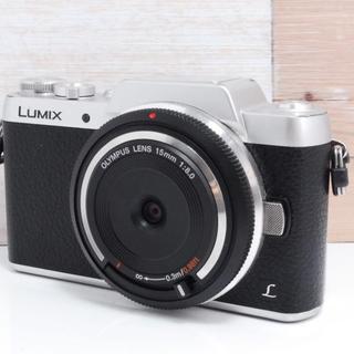 パナソニック(Panasonic)の☆WI-FI搭載☆ Panasonic lumix GF7 ブラック (ミラーレス一眼)