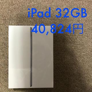 アイパッド(iPad)のiPad Wi-fi 第6世代 32GB スペースグレイ(タブレット)