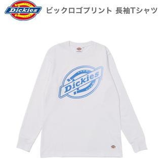 ディッキーズ(Dickies)の⭐️新品未使用⭐DICKIES ビックロゴプリント長袖Tシャツ(Tシャツ/カットソー(七分/長袖))