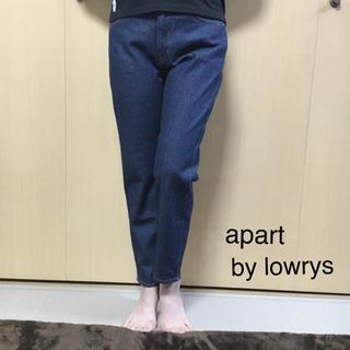 アパートバイローリーズ(apart by lowrys)のapart by lowrys ゆったり可愛いデニム(デニム/ジーンズ)