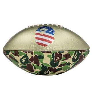 アベイシングエイプ(A BATHING APE)のadidas bape フットボール rifle bape football(アメリカンフットボール)