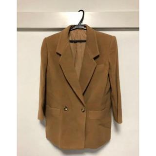 バーバリー(BURBERRY)のBurberrys カシミア混テーラードジャケット、スカート セットアップ(スーツ)
