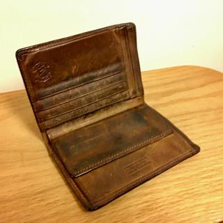 ホワイトハウスコックス(WHITEHOUSE COX)のセトラー  SETTLER  財布(折り財布)