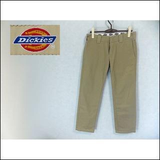 ディッキーズ(Dickies)の【Dickies】 美品 ディッキーズ スカルデザインブラウンチノパン 30(チノパン)