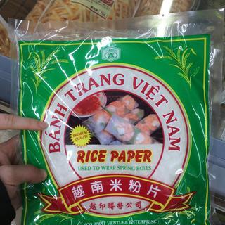 アイ(i)のBanh trang(米/穀物)