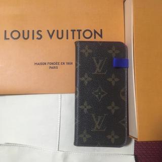 ルイヴィトン(LOUIS VUITTON)の   Louis Vuitton iPhone x xs ケース  フォリオ(iPhoneケース)
