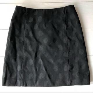 ルシェルブルー(LE CIEL BLEU)の未使用 ドット柄スカート(ひざ丈スカート)