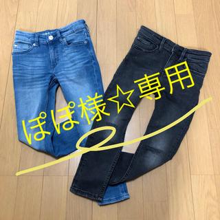 エイチアンドエム(H&M)のH&M 110cmスキニー 2組set(パンツ/スパッツ)