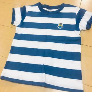 ユニクロ(UNIQLO)のミニオン ボーダーTシャツ(Tシャツ/カットソー)