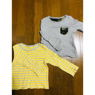 ユニクロ(UNIQLO)のユニクロ ロンT 100cm(Tシャツ/カットソー)
