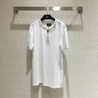 シャネル(CHANEL)のシャネル  CHANEL  タッセル  Tシャツ  正規(Tシャツ(半袖/袖なし))