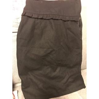 リルリリー(lilLilly)のlilLilly リボンサスペンダースカート(ひざ丈スカート)