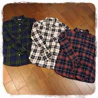 ウィゴー(WEGO)の♡WEGO♡UNIQLO♡GU♡チェックシャツセット♡(シャツ/ブラウス(長袖/七分))
