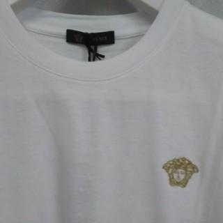 ヴェルサーチ(VERSACE)の※ ジャンニ  ヴェルサーチ   ゴールド刺繍メデューサ(Tシャツ/カットソー(半袖/袖なし))