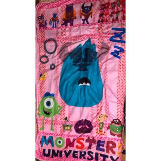 ディズニー(Disney)のモンスターズインク ひざ掛け 毛布 新品 未使用(毛布)