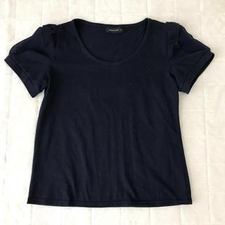 シマムラ(しまむら)のさえこさん袖 Tシャツカットソー(カットソー(半袖/袖なし))