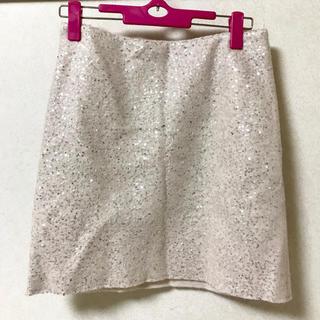 DUAL VIEWスパンコールスカート (ミニスカート)