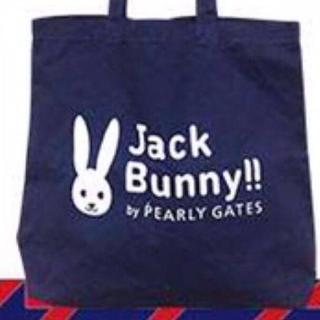パーリーゲイツ(PEARLY GATES)のジャックバニー  エコバッグ ネイビー(バッグ)