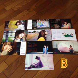 aiko カレンダー ポストカード 銀テープ B(ミュージシャン)